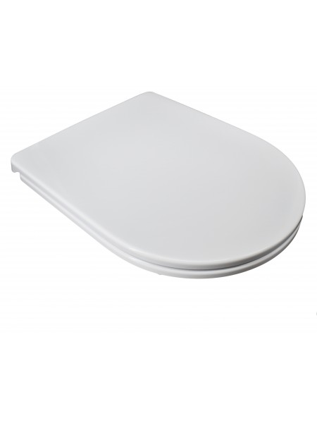 Sedile Wc Compatibile Dolomite Clodia Slim Copriwater In Termoindurente Bianco